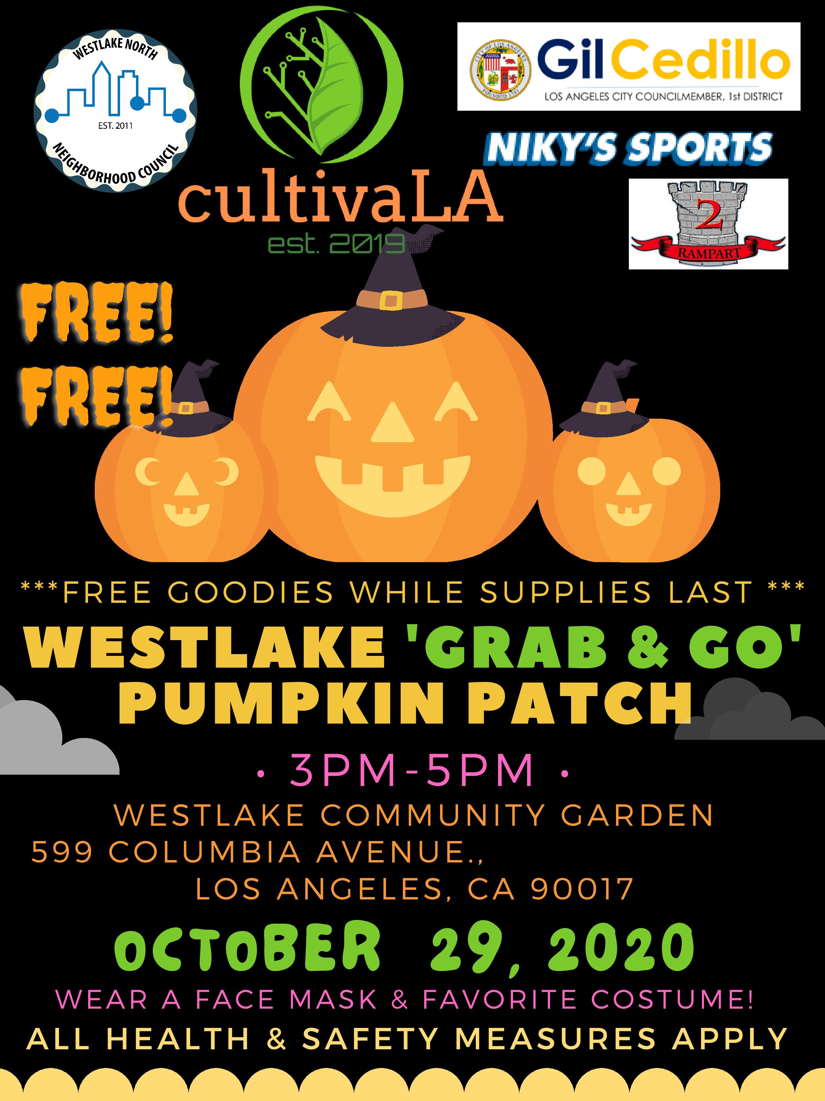 Westlake Grab & Go Pumpkin Patch