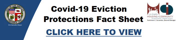 COVID-19 Eviction Protections Fact Sheet
