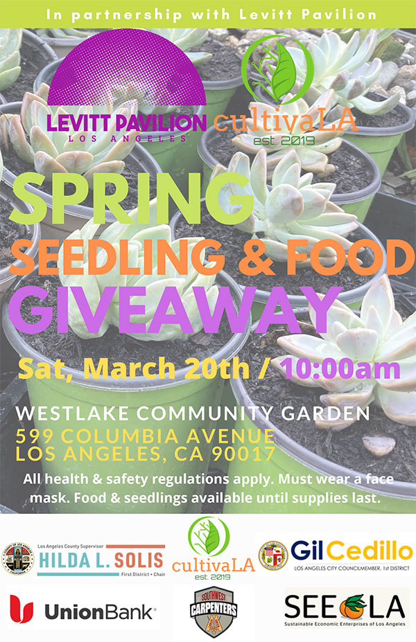 Spring Seedling & Food Giveaway